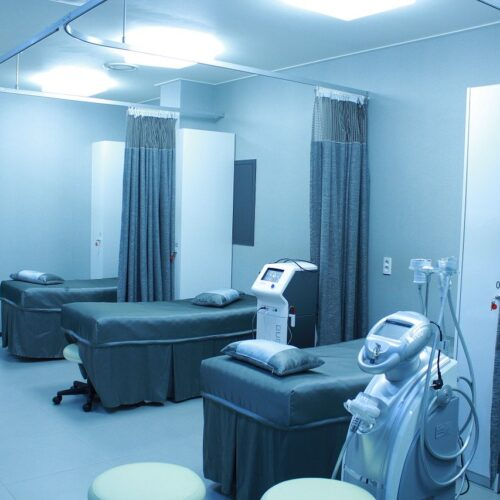 Zdravotnická zařízení ilustracni obrazek